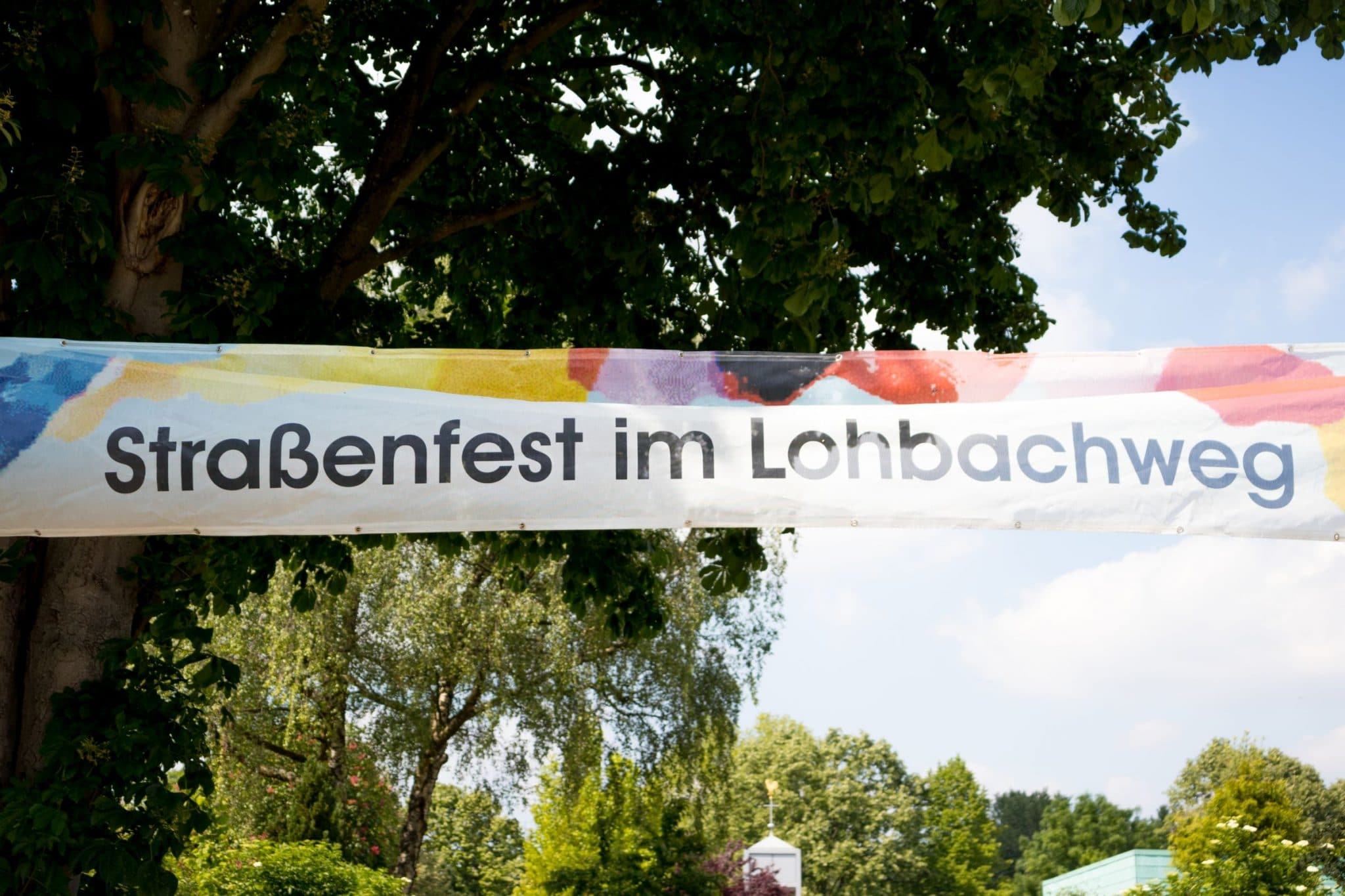 Straßenfest am Lohbachweg